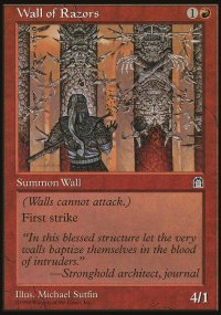 Wall of Razors - Stronghold