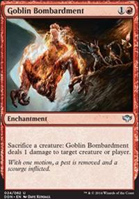 Goblin Bombardment - Speed vs. Cunning