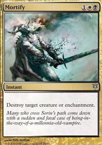 Mortify - Sorin vs. Tibalt
