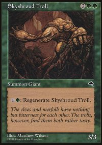 Skyshroud Troll - Tempest