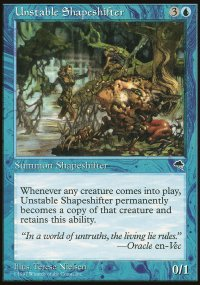 Unstable Shapeshifter - Tempest