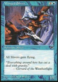 Winged Sliver - Tempest