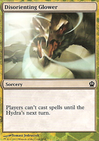 Disorienting Glower - Theros Challenge Deck : Face the Hydra