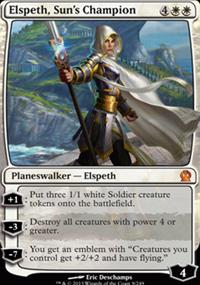 Elspeth, Sun's Champion - Theros