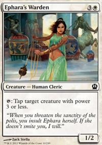 Ephara's Warden - Theros