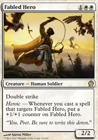 Fabled Hero - Theros