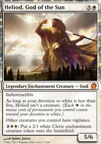 Heliod, God of the Sun - Theros