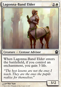 Lagonna-Band Elder - Theros