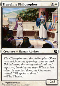 Traveling Philosopher - Theros