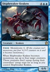 Shipbreaker Kraken - Theros
