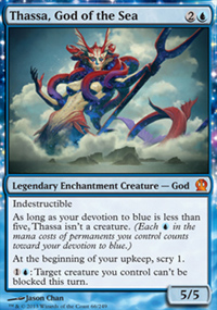 Thassa, God of the Sea - Theros