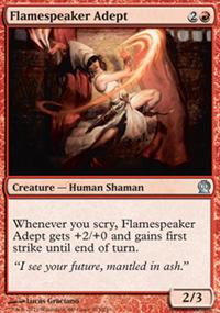 Flamespeaker Adept - Theros