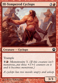 Ill-Tempered Cyclops - Theros