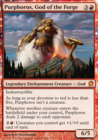 Purphoros, God of the Forge - Theros