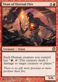 Titan of Eternal Fire - Theros