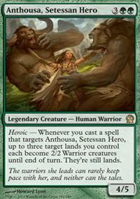 Anthousa, Setessan Hero - Theros