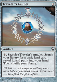 Traveler's Amulet - Theros