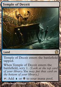 Temple of Deceit - Theros