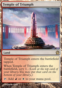 Temple of Triumph - Theros