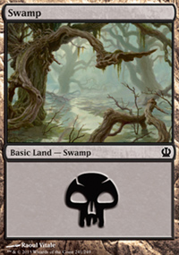 Swamp 4 - Theros
