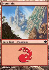 Mountain 4 - Theros