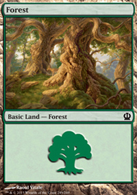 Forest 4 - Theros