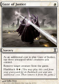 Gaze of Justice - Time Spiral