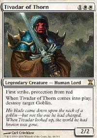 Tivadar of Thorn - Time Spiral