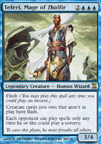 Teferi, Mage of Zhalfir - Time Spiral