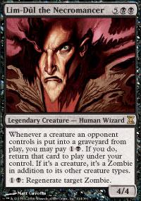 Lim-Dûl the Necromancer - Time Spiral