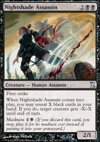 Nightshade Assassin - Time Spiral