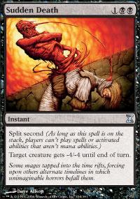 Sudden Death - Time Spiral