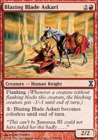 Blazing Blade Askari - Time Spiral