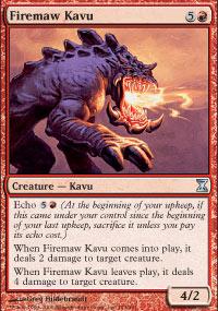 Firemaw Kavu - Time Spiral