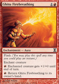 Ghitu Firebreathing - Time Spiral