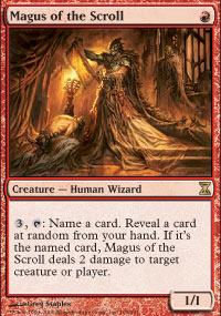 Magus of the Scroll - Time Spiral