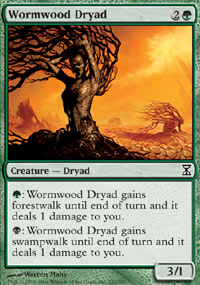 Wormwood Dryad - Time Spiral