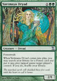 Yavimaya Dryad - Time Spiral