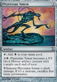 Phyrexian Totem - Time Spiral