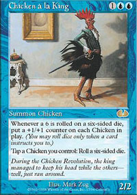 Chicken à la King - Unglued