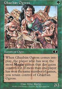 Ghazbán Ogress - Unglued
