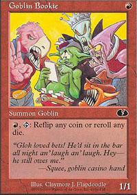 Goblin Bookie - Unglued
