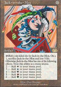 Jack-in-the-Mox - Unglued