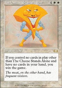 The Cheese Stands Alone - Unglued