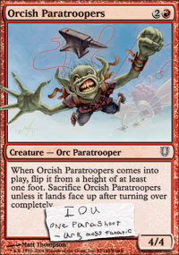 Orcish Paratroopers - Unhinged