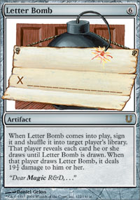 Letter Bomb - Unhinged