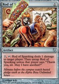 Rod of Spanking - Unhinged