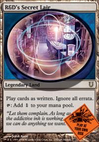 R&D's Secret Lair - Unhinged
