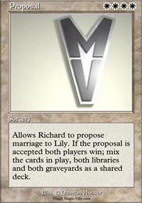 Proposal - Ultra Rare Cards