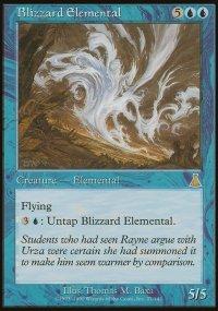 Blizzard Elemental - Urza's Destiny